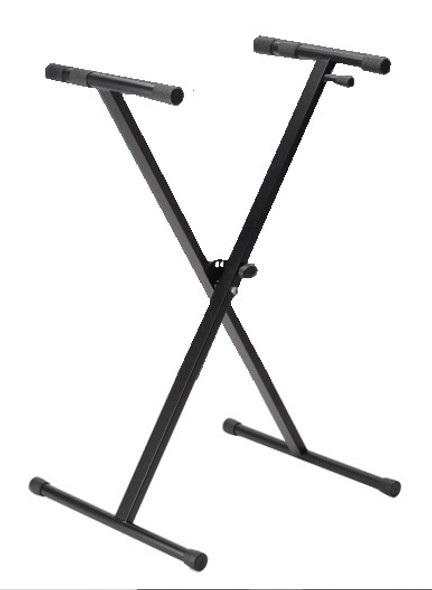 Stagg Single Braced X-Style Keyboard Stand
