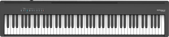 Roland FP-30X Portable Piano Keyboard - Black