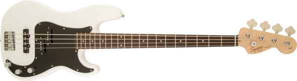 Squier Affinity Series™ Precision Bass® PJ, Laurel Fingerboard, Olympic White