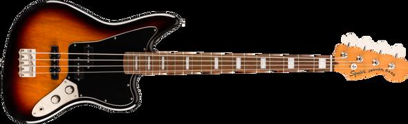 Squier Classic Vibe Jaguar® Bass, Laurel Fingerboard, 3-Color Sunburst