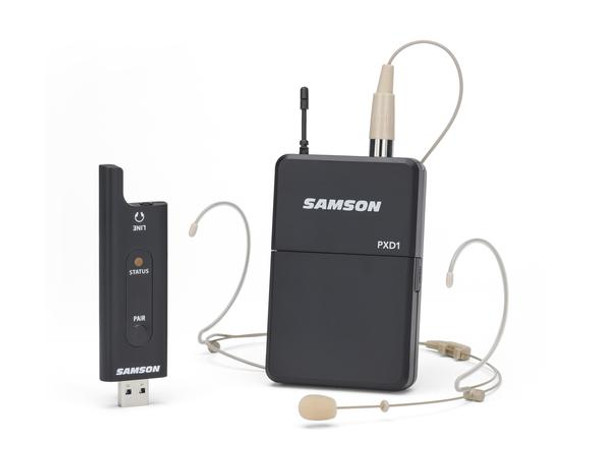 Samson XPD2 Headset USB Digital Wireless System