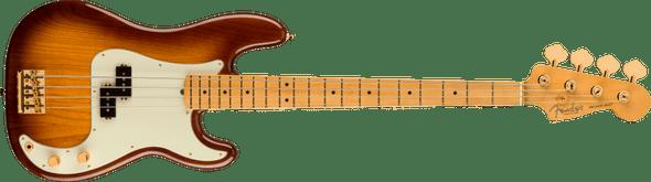 Fender 75th Anniversary Commemorative Precision Bass®, Maple Fingerboard, 2-Color Bourbon Burst