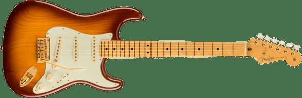 Fender 75th Anniversary Commemorative Stratocaster®, Maple Fingerboard, 2-Color Bourbon Burst