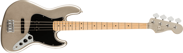 Fender 75th Anniversary Jazz Bass®, Maple Fingerboard, Diamond Anniversary