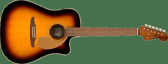 Fender Redondo Player, Walnut Fingerboard, Sunburst