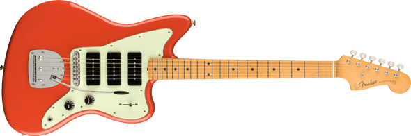 Fender Noventa Jazzmaster®, Maple Fingerboard, Fiesta Red