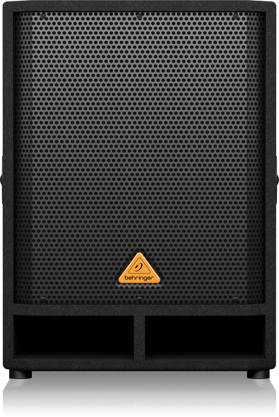 """Behringer Eurolive VQ1500D Professional Active 500-Watt 15"""" PA Subwoofer with Built-In Stereo Crossover"""