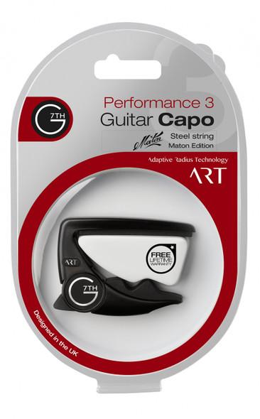 Maton G7th Performance 3 Guitar Capo Black