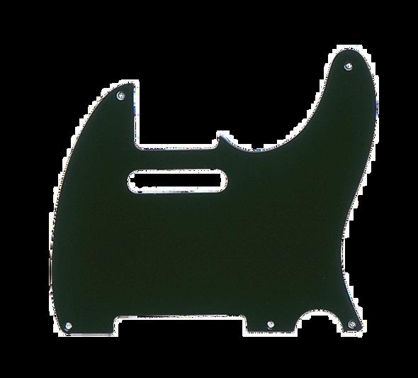 Fender Pickguard, Telecaster®, 5-Hole Mount, Black, 1-Ply