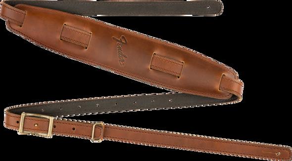 Vintage Saddle Strap, Long, Cognac