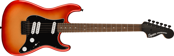 Squier Contemporary Stratocaster® Special HT, Laurel Fingerboard, Black Pickguard, Sunset Metallic
