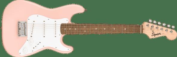 Squier Mini Stratocaster®, Laurel Fingerboard, Shell Pink