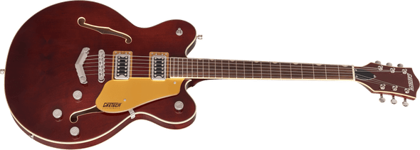 Gretsch G5622 Electromatic® Center Block Double-Cut with V-Stoptail, Laurel Fingerboard, Aged Walnut