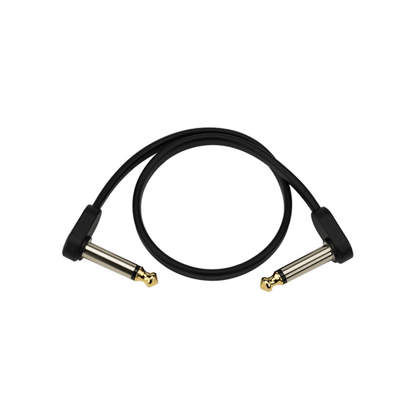 D'Addario Planet Waves Custom Series Flat Patch Cable, 1ft