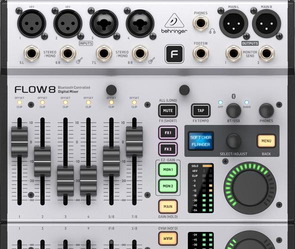 Behringer Flow 8 Digital USB Mixer