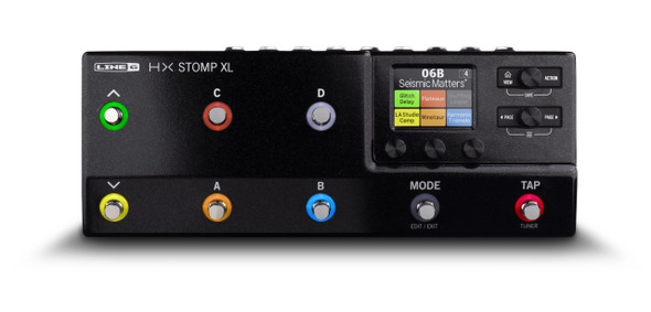Line 6 HX Stomp XL Guitar Multi-Effects Processor