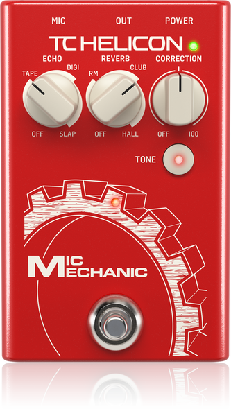 TC Helicon Mic Mechanic 2 Vocal Pedal