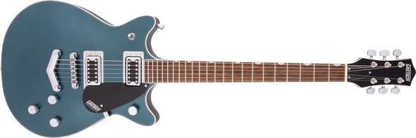 Gretsch G5222 Electromatic® Double Jet™ BT with V-Stoptail, Laurel Fingerboard, Jade Grey Metallic