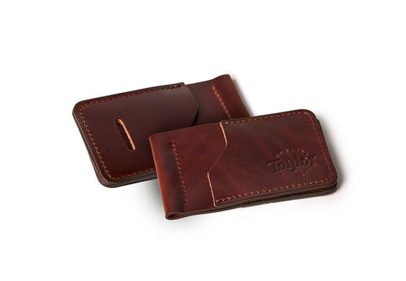 Taylor Leather Wallet - Brown