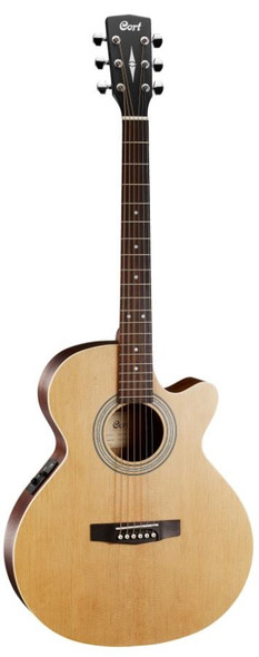 Cort SFX-ME Acoustic Guitar with Pickup Open Pore Natural
