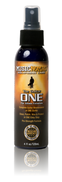 Music Nomad The Guitar ONE - All in 1 Cleaner, Polish, Wax (Gloss Finish Only)