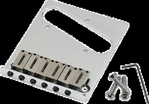 Fender 6-Saddle American Series Telecaster® Bridge Assembly (Chrome)
