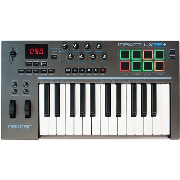 Nektar Impact LX25+ 25-Note USB MIDI Keyboard Controller