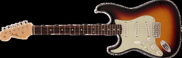 Fender B-Stock Made in Japan Traditional 60s Stratocaster®, Left-Handed, Rosewood Fingerboard, 3-Color Sunburst D29