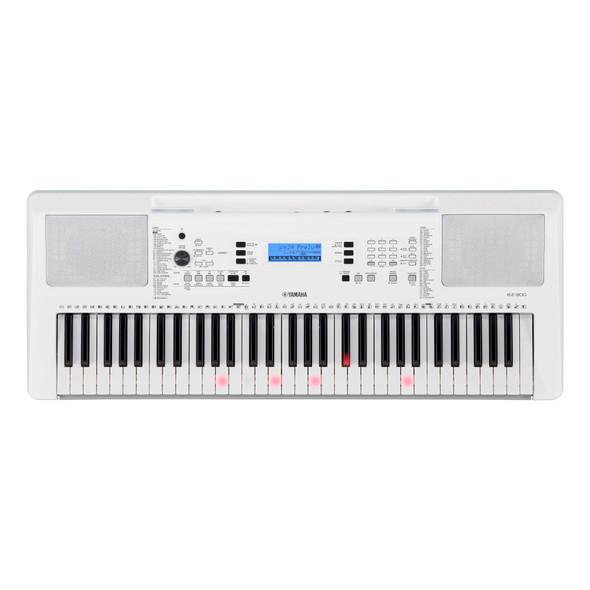 Yamaha EZ-300 Portable Keyboard With Light up Keys and KXSa4t Stand