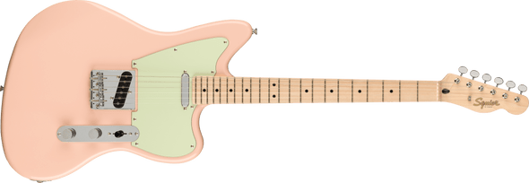 Squier Paranormal Offset Telecaster®, Maple Fingerboard, Shell Pink