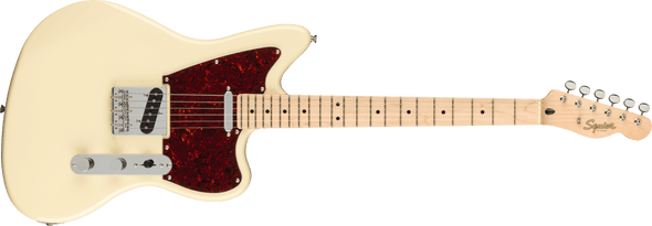 Squier Paranormal Offset Telecaster®, Maple Fingerboard, Olympic White