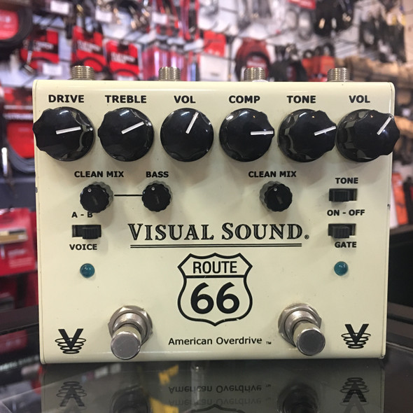 Second Hand Visual Sound Route 66 Overdrive Pedal