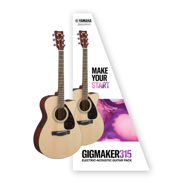 Yamaha Gigmaker 315 Electric-Acoustic Guitar Pack