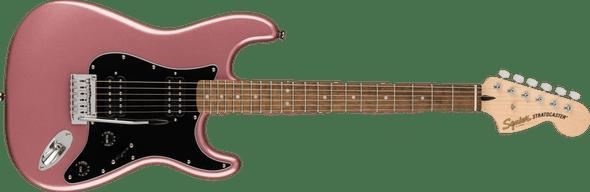 Squier Affinity Series Stratocaster HH, Laurel Fingerboard, Burgundy Mist