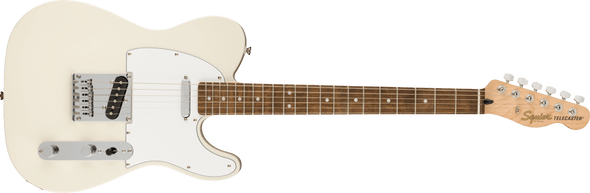 Squier Affinity Series Telecaster, Laurel Fingerboard, Olympic White