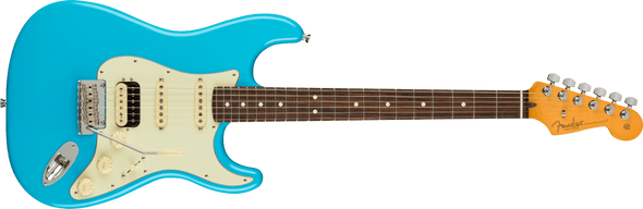 Fender American Professional II Stratocaster® HSS, Rosewood Fingerboard, Miami Blue