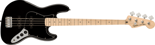 Squier Affinity Series™ Jazz Bass®, Maple Fingerboard, Black