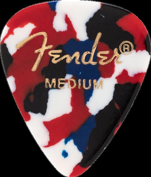 Fender Confetti, 351 Shape Picks, Medium 12-Pack