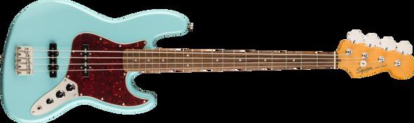 Squier Classic Vibe '60s Jazz Bass®, Laurel Fingerboard, Daphne Blue