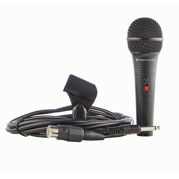 Smart Acoustic SDM50J Dynamic Microphone With Free XLR to Jack Cable