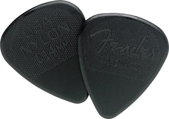 Fender Nylon 351 Shape Picks, 1.14mm, 12-Pack