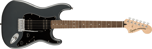 Squier Affinity Series™ Stratocaster® HH, Laurel Fingerboard, Charcoal Frost Metallic