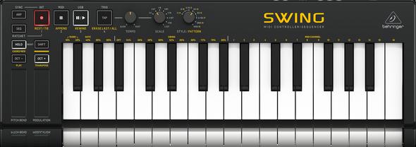 Behringer Swing - 32 Key USB MIDI Controller Keyboard