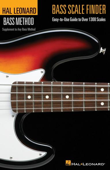 Hal Leonard Bass Scale Finder