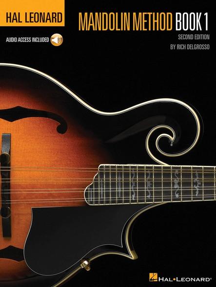 Hal Leonard Mandolin Method Book/OA