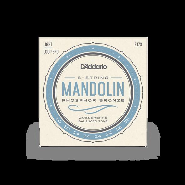 D'Addario EJ73 Phosphor Bronze 8-String Mandolin Strings 10-38