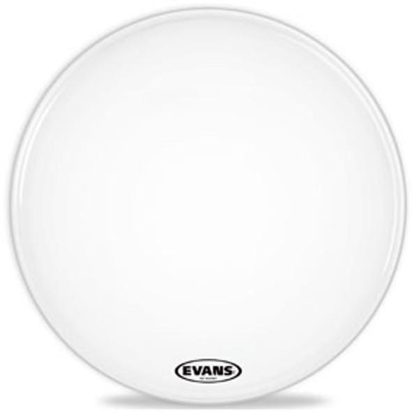 Evans EQ1 Resonant Coated White Bass Drum Head