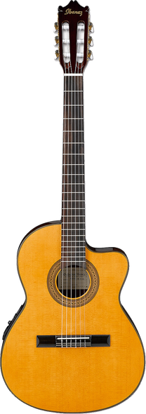 Ibanez GA5TCE NT Classical Acoustic-Electric Guitar