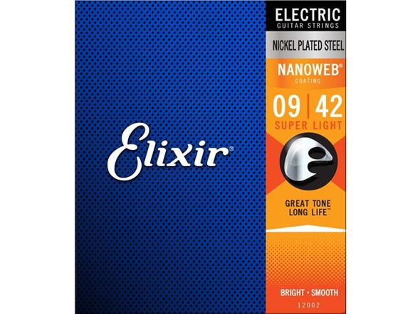 Elixir Electric Nanoweb (9-42) Super Light