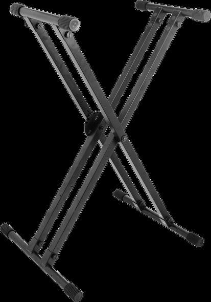 On-Stage KS8291 Heavy Duty Double-X Keyboard Stand